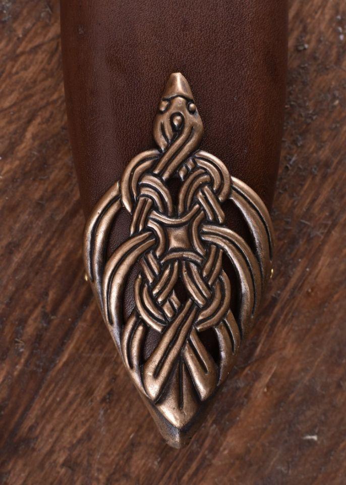 Wikingerschwert mit Bronzegriff 6
