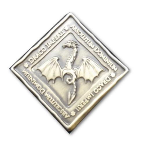 LARP-Münzen Drachen 6