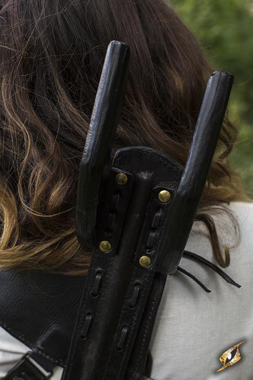 Rücken-Schwerthalter für LARP-Schwerter schwarz 6