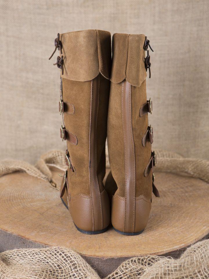Mittelalter Stiefel Sewolt braun 6