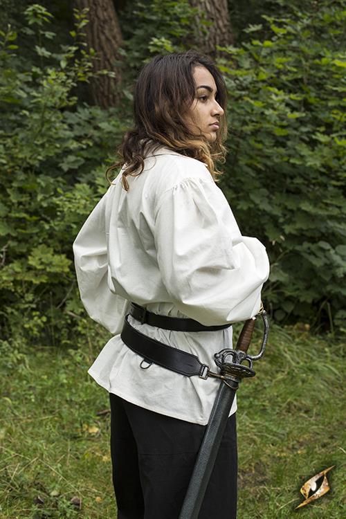 Schwertgürtel für LARP-Schwerter schwarz 7