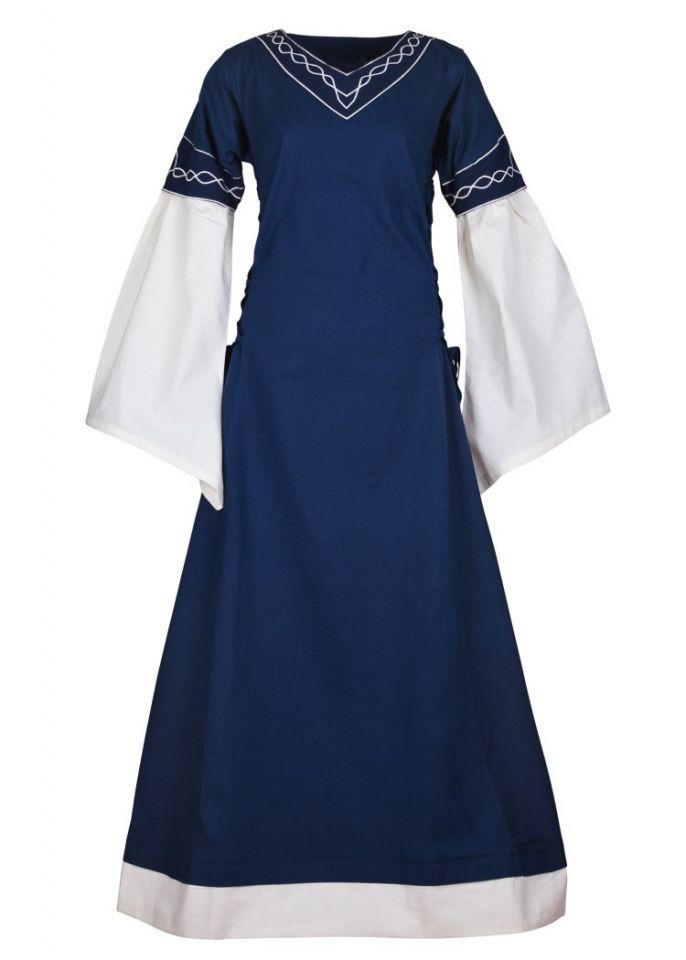 Kleid Agatha blau 7