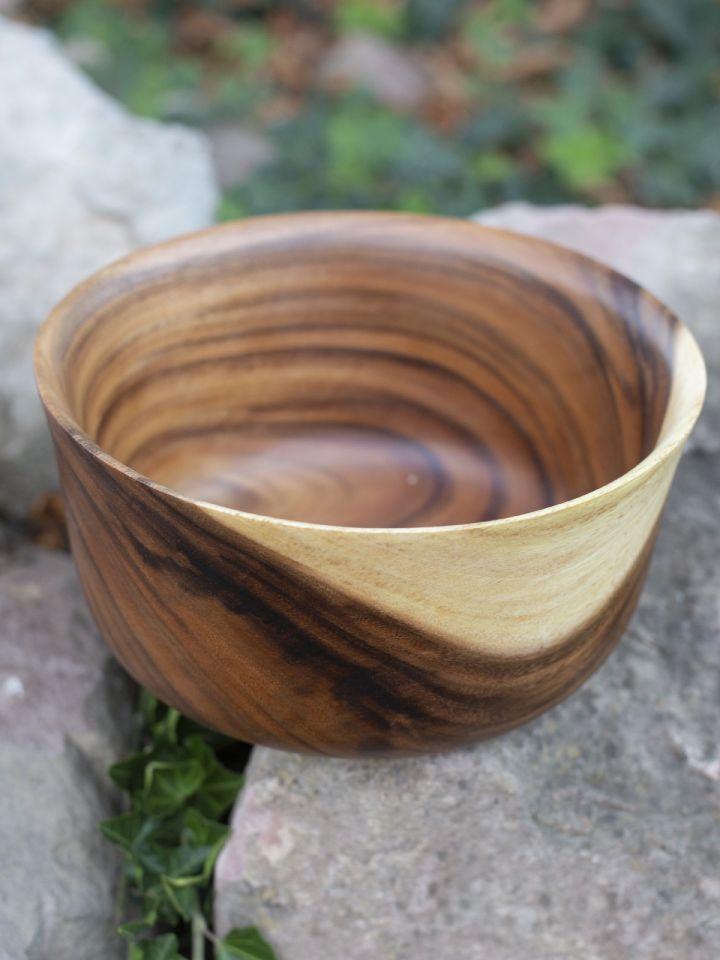 Holzschüssel aus Akazienholz 7