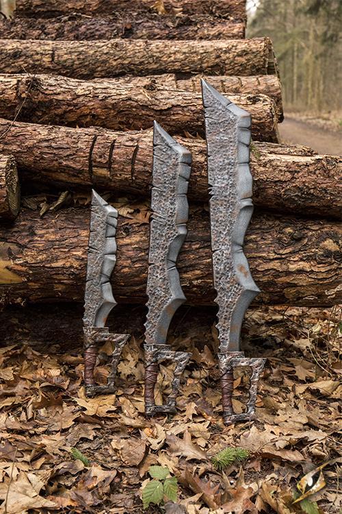 Ork Klinge für LARP 100 cm 7
