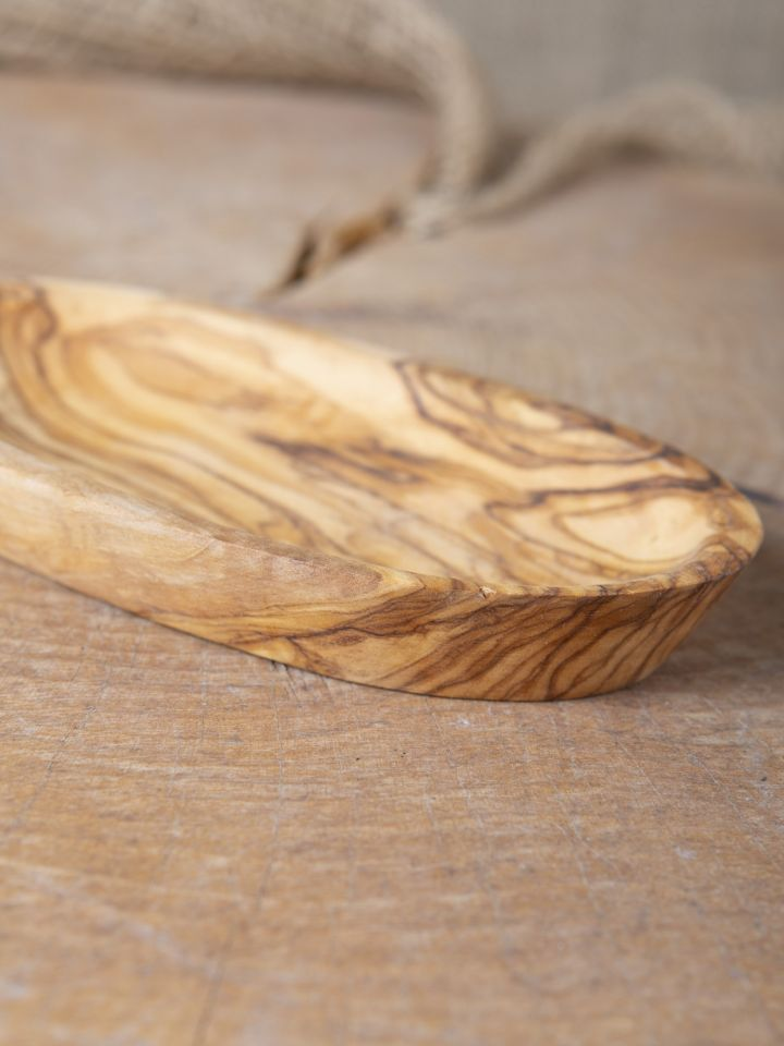 Schale aus Olivenholz groß 7