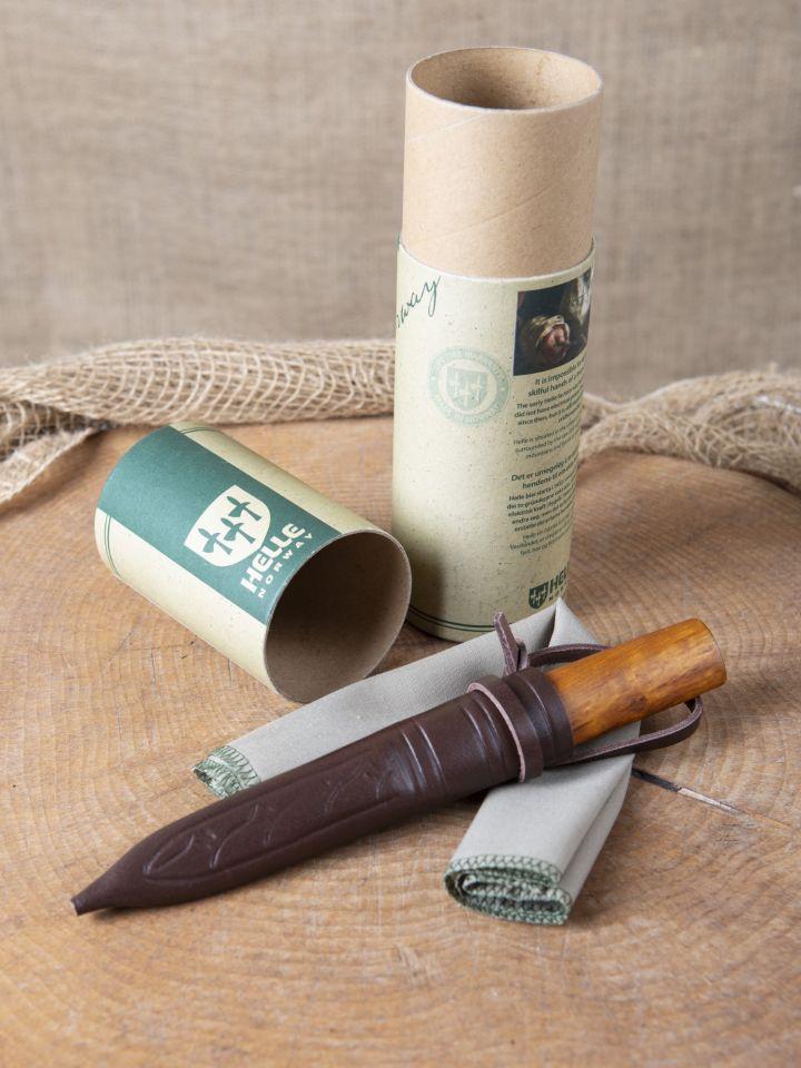 Messer mit Birkenholzgriff 7