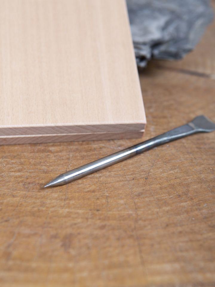 Wachstafel mit Metallgriffel 7