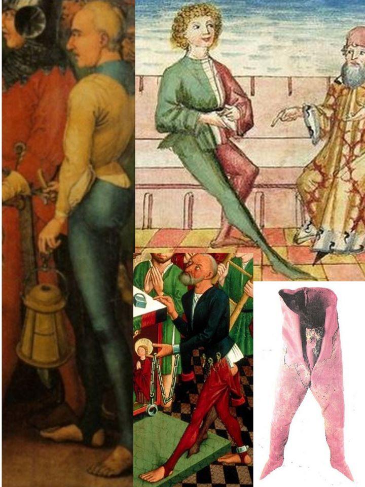 Geschlossene Hose mit Steg Martin Schongauer 7