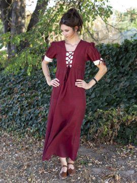 Sommerkleid rot L