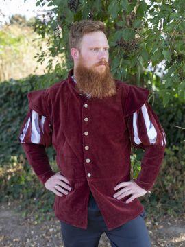 Jacke für den edlen Herren rot XL