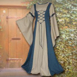 Kleid Katharina hellblau-sand 36 - 42