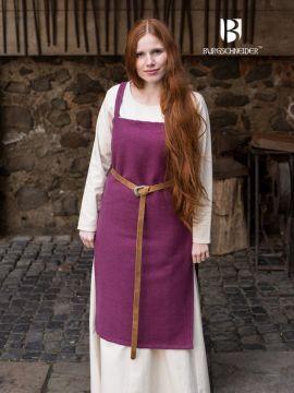 Wikingerkleid Frida - Flieder S