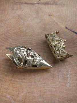 Ortband und Mundblech für Schwertscheiden