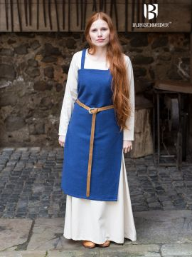 Wikingerkleid Frida - blau S