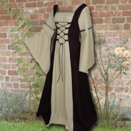 Kleid Elisabeth schwarz-sand 44-48