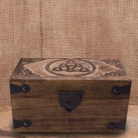 Holztruhe Keltischer Knoten klein