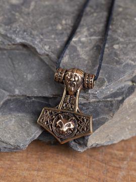 Großer Thorshammer aus Bronze