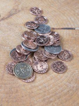 LARP-Münzen Wasser ohne Lederbeutel