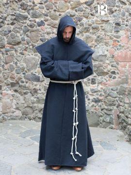 Mönchskutte Benediktus schwarz S/M