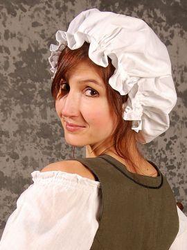 Haube für die Maid schwarz
