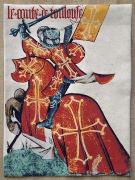 Comte de Toulouse 95 x 70 cm