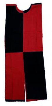 Kinder-Waffenrock schwarz/rot