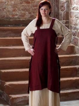 Überkleid Wikinger rot L/XL