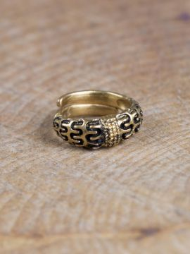 """Wikinger-Ring """"Falster"""" bronze S"""