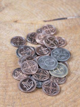LARP-Münzen Pirat ohne Lederbeutel