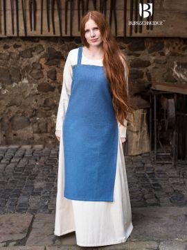 Wikingerkleid Frida - meerblau XL