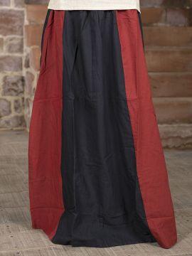 Rock für Mittelalter schwarz-rot L/XL