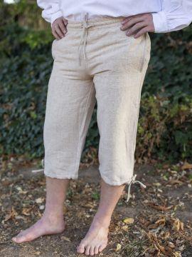 Einfache Kniebundhose hanf