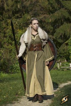 Kleid Astrid oliv-sand