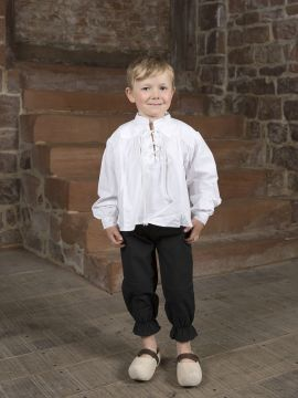 Ritterhose für Kinder XS | schwarz