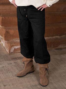 Bundhose schwarz XL