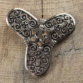 Kleeblattfibel Bronze