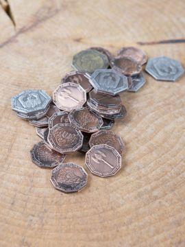 LARP-Münzen Zwerge ohne Lederbeutel