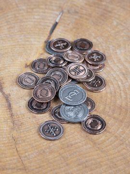 LARP-Münzen Drachen ohne Lederbeutel