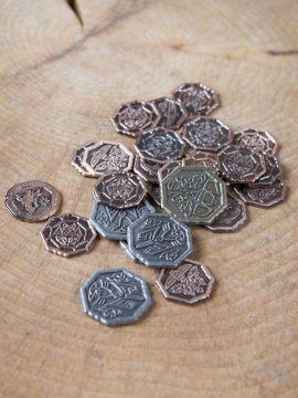 LARP-Münzen Altzwergisch ohne Lederbeutel