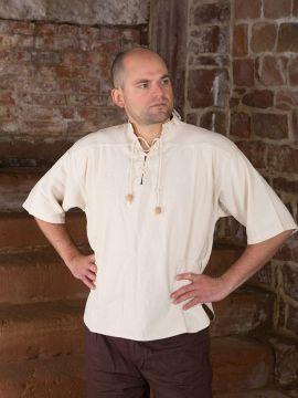 Kurzes Mittelalterhemd XL | natur