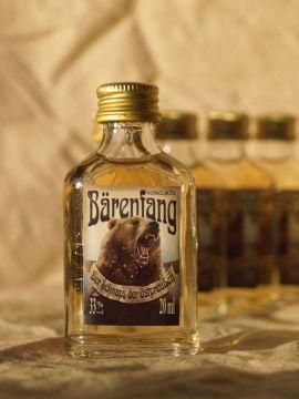 Metlikör Bärenfang 2 cl Einzelflasche