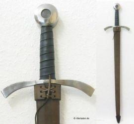 Schwertscheide - Handarbeit für Einhänder | schwarz