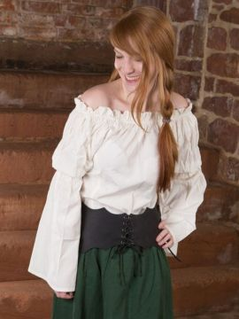 Bluse für Mittelalter/LARP XXL