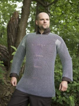 Kettenhemd - unvernietet, verzinkt XL