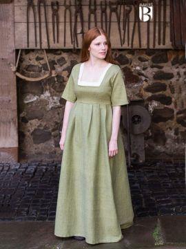 Kleid Frideswinde lindgrün XL