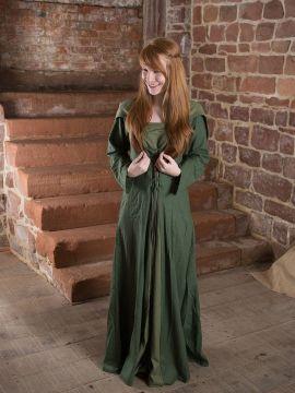 Mittelalterkleid Luna in grün 42