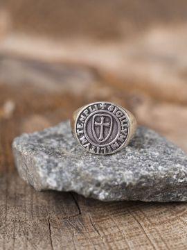Ring Siegel der Tempelritter 62
