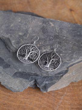 Ohrhänger mit Lebensbaum