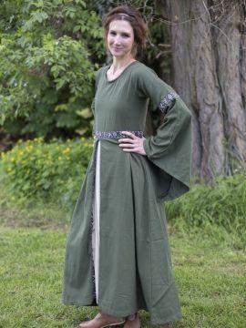Herbstkleid in waldgrün M