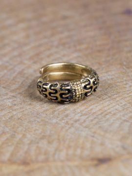 """Wikinger-Ring """"Falster"""" bronze L"""